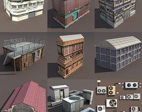 Derelict Factory PACK 3D asset