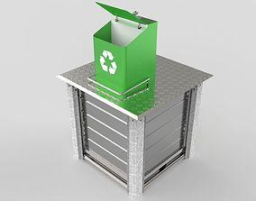 storage 3D Underground Waste Container