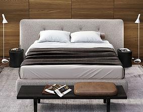 POLIFORM REVER BED SET 3D model