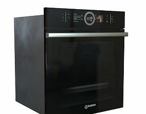 3D asset Oven BOSCH HBG 636 LB