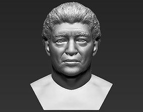 Diego Maradona bust 3D printing ready stl obj formats