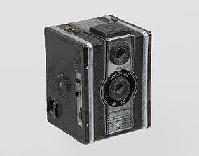 3D model Vintage Box Camera Coronet photogrammetry scan 2