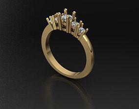 Gems Ring 3D print model