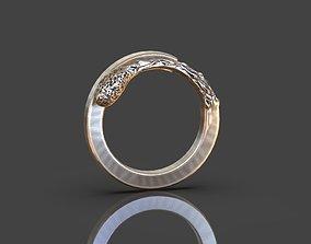 Matchstick ring 3D print model