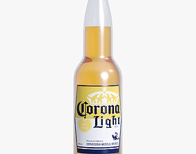 Corona Light Beer 3D asset