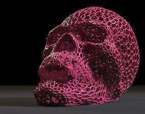 Vampire skull dracula 3D printable model