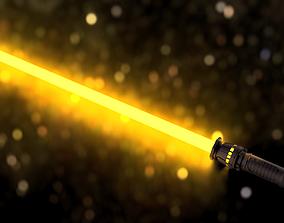 Rey Lightsaber - telescopic 3D printable model