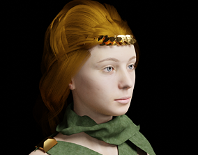 rigged Aphrodite Rigged 3D Model