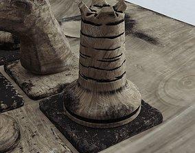 3D printable model CHESS TOWER