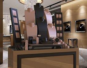 3D print model luxury jewellry window design