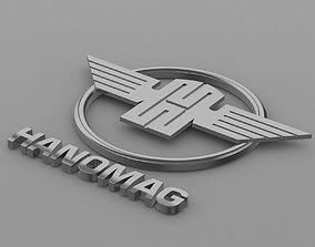 hanomag logo 2 3D