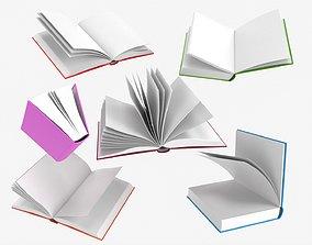 3D Open books composition