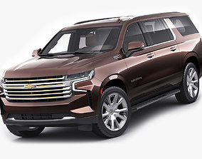 3D Suburban 2021 SUV