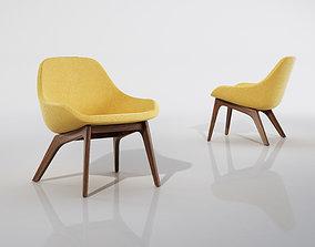 Zeitraum Morph Lounge 3D model seat1