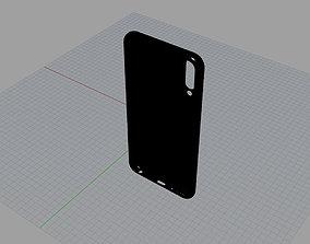 3D asset Samsung Galaxy A50 BLACK case