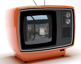 3D Retro TV digital