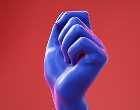 3D model Male Hand 23