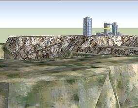 3D Star Wars - Corellia landscape