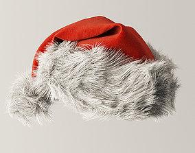 3D model gnome Santa hat