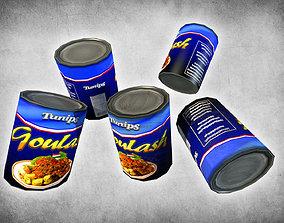 Canned Goulash 3D asset