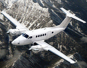 3D Beechcraft King Air 250