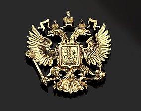 3D printable model Emblem of russia