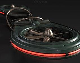 HOVERBOARD 3D model PBR