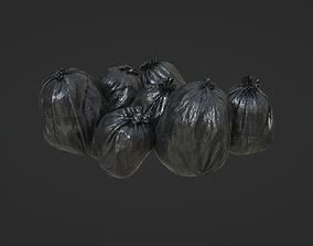 Plastic Bags 3D model