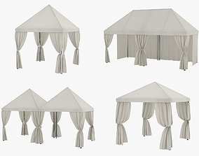 Partytent Collection 3D model