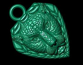 tiger 3D print model hot pendants
