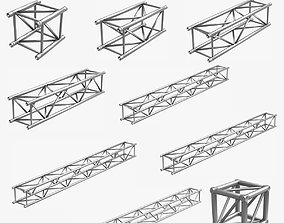 Big Square Truss 007-3d Print