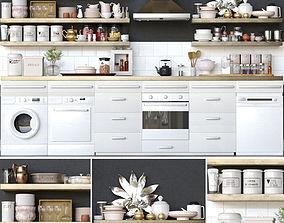 Kitchen Wall 3D