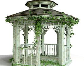 3D Wood Arbor Ivy