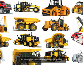 3D Mining and Construction Vehicles