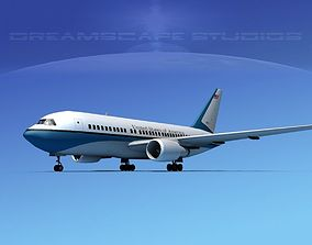 3D model Boeing 767-200ER US Government