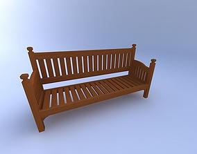 3D Bench,-Park-w-texture