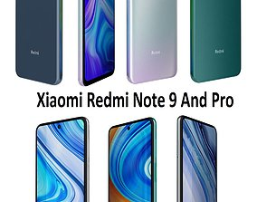 3D Xiaomi Redmi Note 9 And Pro