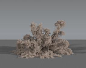 Dust Explosion 02 - VDB 3D
