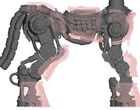 3D print model Centaur knight conversion kit - Classic 2