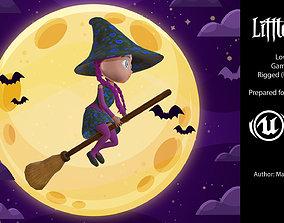 3D asset Little witch III