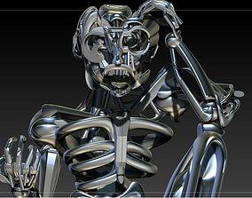 The Thinker ZBRUSH 3D model