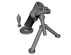 28mm mortar 3D print model