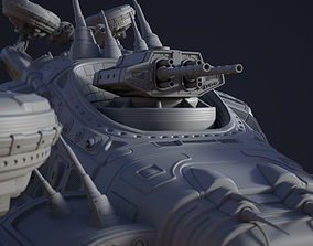 Matrix Airship 3D model