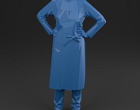 3D asset women 01 Artisan - LowPoly printable