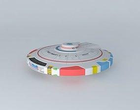 USS Wilbur Wright 3D model