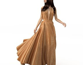 3D Summer dress sundress 3