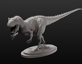 Allosaurus model intended for 3D printing sculptures