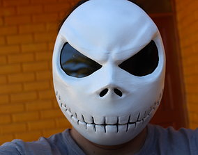 mascara de jack skellington 3D print model