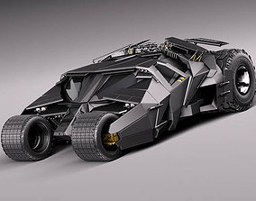 3D model Batmobile 2005