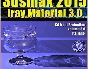 material 3ds max 2015 Iray Material Volume 3 cd front